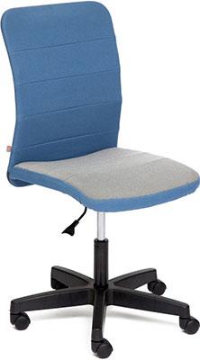 Кресло Tetchair BESTO ткань синий/серый с24/с27 офисное кресло tetchair besto
