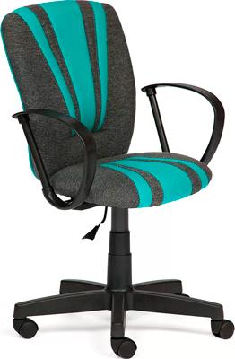 Кресло Tetchair Spectrum (ткань серо-бирюзовый 207/2607) кардиган laura kent klingel цвет серо бирюзовый