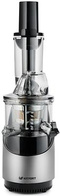 Соковыжималка универсальная Kitfort КТ-1105-2 серебристый металлик фритюрница kitfort кт 2023 серый металлик