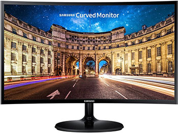 ЖК монитор Samsung C 27 F 390 FHI (390 FHIXRU) gl.Black монитор жк samsung s27f358fwi 27 черный [ls27f358fwixci]