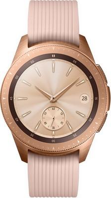 Часы Samsung Galaxy Watch 42 mm SM-R 810 розовое золото умные часы samsung galaxy watch 46 mm silver sm r800n