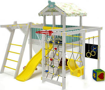 Игровой комплекс-кровать Савушка Baby-5 игровой комплекс кровать савушка baby 5