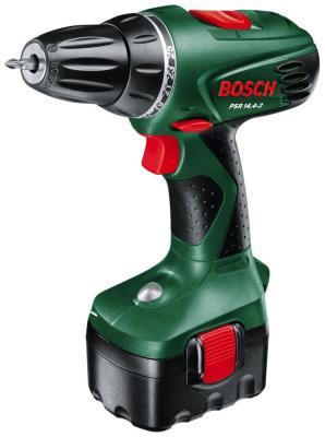 Дрель-шуруповерт Bosch PSR 14.4 0603955421 bosch дрель шуруповерт psr 1200 аккум патрон быстрозажимной