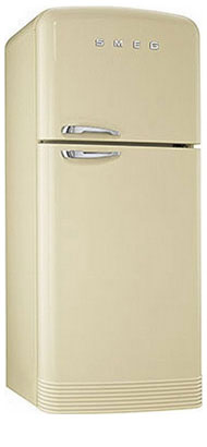 Двухкамерный холодильник Smeg FAB 50 P smeg fq55fxe