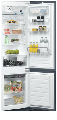 Встраиваемый двухкамерный холодильник Whirlpool ART 9610/A+