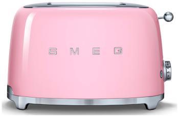 Тостер Smeg TSF 01 PKEU розовый тостер smeg tsf 01 bleu чёрный