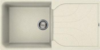 Кухонная мойка Elleci EGO 480  granitek (62) Bianco Antico LGE 48062