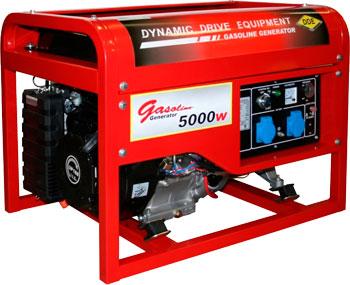 Электрический генератор и электростанция DDE DPG 7551 E