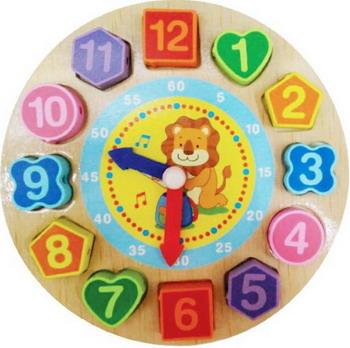 Шнуровка Mapacha Часики игрушка веселые часики