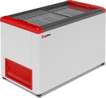 Морозильный ларь Gellar FG 400 C красный junlinu белый красный 43