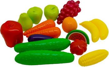 Набор кухня Орион 379 овощи фрукты 16 шт