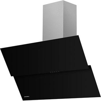 Вытяжка со стеклом MAUNFELD PLYM LIGHT 60 Чёрное стекло вытяжка со стеклом maunfeld tower light 50 чёрный чёрное стекло