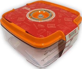Контейнер для вакуумного упаковщика Status VAC-SQ-20 Orange вакуумный контейнер status vac sq 20