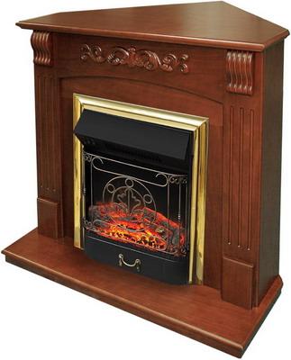 Каминокомплект Royal Flame Sorrento угл. с очагом Majestic BR орех термостатический комплект varmega угловой 1 2 клапан угл терм клапан угл зап терм головка 20780400