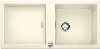 Кухонная мойка BLANCO ADON XL 6S SILGRANIT жасмин с клапаном-автоматом кухонная мойка blanco adon xl 6s silgranit белый с клапаном автоматом
