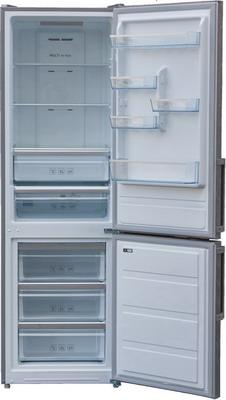 Двухкамерный холодильник Shivaki BMR-1881 NFX холодильник shivaki bmr 2013dnfw двухкамерный белый