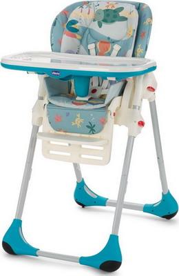 Стульчик для кормления Chicco POLLY 2 в 1 Sea Dreams 00079074800000 стульчик для кормления chicco polly 2 в 1 sea dreams