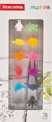 Этикетки для стаканов Tescoma myGLASS 12шт океан 308820 этикетки для стаканов tescoma myglass 12шт океан 308820