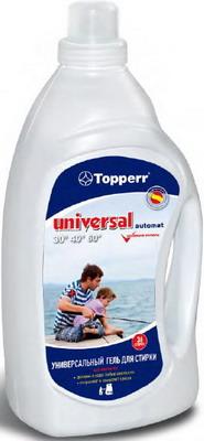 Гель для стирки универсальный Topperr UNIVERSAL A 1618 средство для стирки topperr 3218