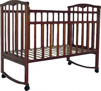 Детская кроватка Агат Золушка-1 Орех