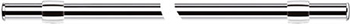 Подвесной карниз Tescoma монтажный комплект МОНТИ 60 см 900092