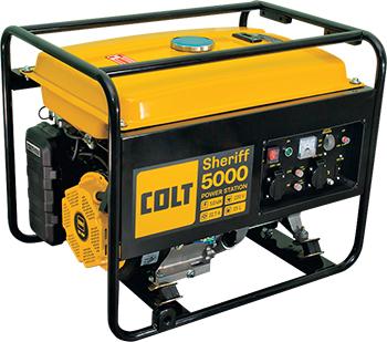 Электрический генератор и электростанция Colt Sheriff 5000 + Инвертор сварочный Condor 180