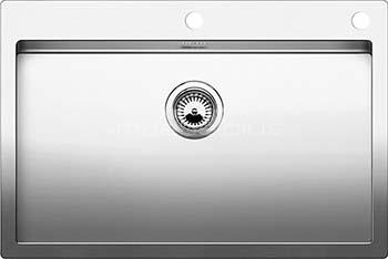 Кухонная мойка BLANCO CLARON 700-IF/А нерж. сталь зеркальная полировка 521634 blanco claron 400 if а нерж сталь зеркальная