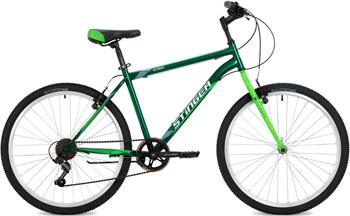 Велосипед Stinger 26'' Defender 16'' зеленый 26 SHV.DEFEND.16 GN8 велосипед навигатор patriot цвет зеленый navigator