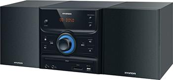 Музыкальный центр Hyundai H-MS 260 чёрный по для сервиса м видео ms office h