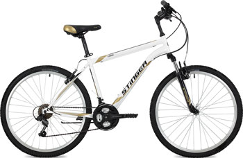 Велосипед Stinger 26'' Caiman 20'' белый 26 SHV.CAIMAN.20 WH8 велосипед stinger caiman 26 2016