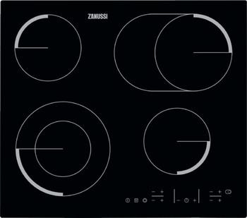 Встраиваемая электрическая варочная панель Zanussi ZEV 56646 FB варочная панель электрическая zanussi zev 6340 xba черный