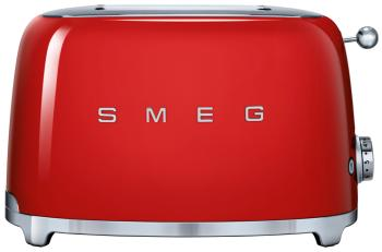 Тостер Smeg TSF 01 RDEU красный тостер smeg tsf 02 pkeu розовый