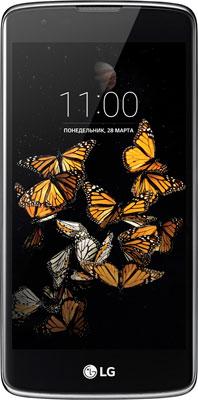 Мобильный телефон LG K8 K 350 E black blue lg 43uh651v black