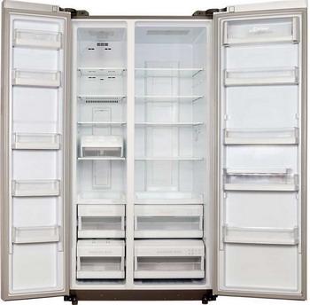 Холодильник Side by Side Kaiser KS 90200 G холодильник side by side samsung rs552nrua1j