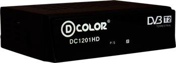Цифровой телевизионный ресивер D-Color DC 1201 HD