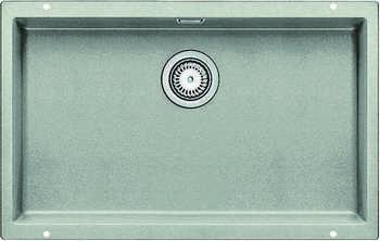 Кухонная мойка BLANCO SUBLINE 700-U SILGRANIT жемчужный мойка blanco classik 9e silgranit 521342 шампань