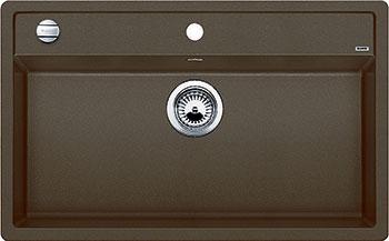 Кухонная мойка BLANCO DALAGO 8 SILGRANIT кофе с клапаном-автоматом маркер для доски centropen 8569 1c 4 6 мм синий 8569 1c