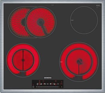 Встраиваемая электрическая варочная панель Siemens ET 645 FHP 1 встраиваемая электрическая панель siemens et675fn17e