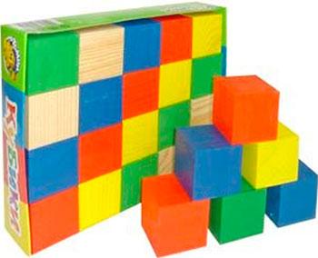 Кубики ТОМИК цветные 20 деталей