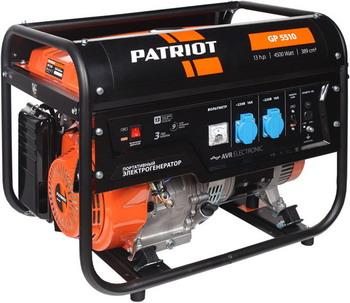 Электрический генератор и электростанция Patriot GP 5510 электрический генератор и электростанция patriot maxpower srge 1000 it
