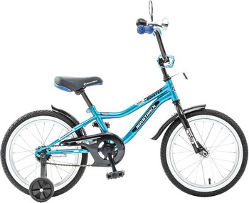 Велосипед Novatrack 16 BOISTER синий велосипед novatrack a формула 16 2016 сине белый 167formula bl6