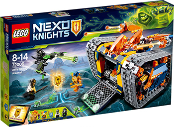 Конструктор Lego Nexo Knights Мобильный арсенал Акселя 72006 lepin nexo knights axl glob lobber combination marvel building blocks kits toys compatible legoe nexus