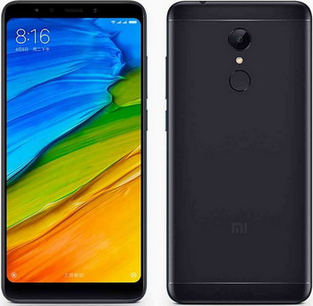 Мобильный телефон Xiaomi Redmi 5 2/16 GB черный смартфон micromax canvas juice 4 q465 gold quad core 1 3 ghz 5 hd ips 1280 720 2 gb 16 gb 8mpx 5mpx 4g 3900mah 2 sim android 5 1