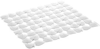 Коврик для раковины Tescoma CLEAN KIT 32 x 28 см листочки белый 900637.11