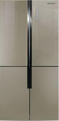 Многокамерный холодильник Ginzzu NFK-510 шампань аквариум ferplast dubai 100 белый 190л