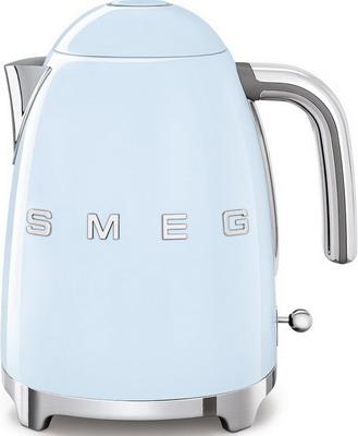 Чайник электрический Smeg KLF 03 PBEU пастельный голубой smeg klf01xxcn pb электрическтй чайник синий