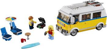 Конструктор Lego Creator: Фургон сёрферов 31079 цена