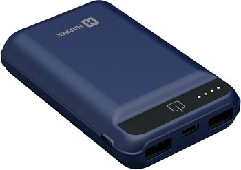 Зарядное устройство портативное универсальное Harper PB-2612 blue крышка батареи для xbox360 батареи оболочки
