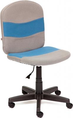 Кресло Tetchair STEP (ткань серый/синий С27/С24) tetchair стул компьютерный step