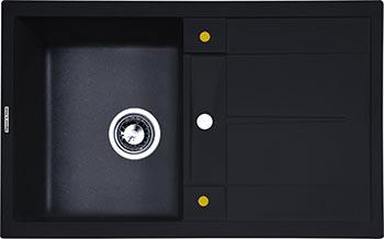 цена на Кухонная мойка Zigmund amp Shtain Rechteck 780 темная скала